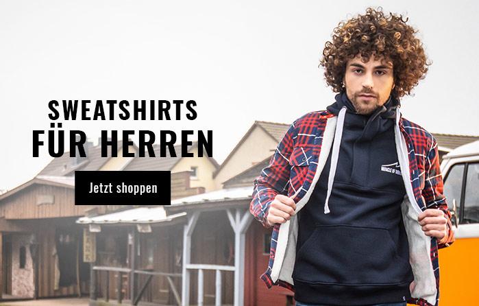 Herren Sweatshirts für den Herbst