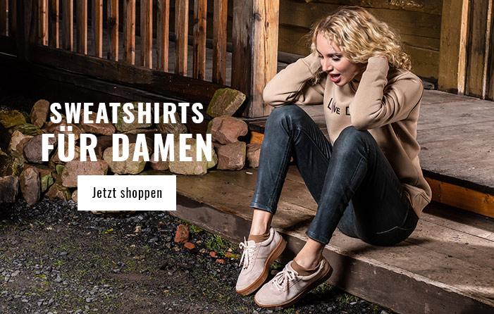 Damen Sweatshirts für den Herbst